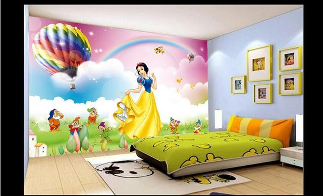 Captivating 3d Photo Wallpaper Custom 3d Wall Mural Wallpaper Snow White, 3 D Cartoon  Dreams Background Part 18