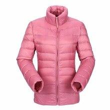 Tengo зима качество бренда женщина 90% белый парка-пуховик с утиным пухом куртка Для женщин Ультра Легкая зимняя куртка-пуховик весеннее пальто Дамы парка