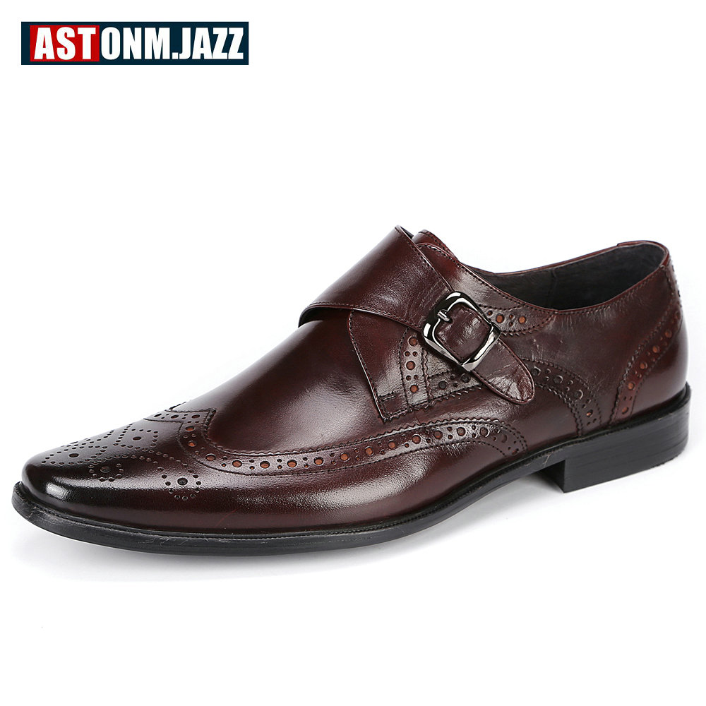 Formal Shoes Shoes Mens Oxfords Shoes Leisure Casual Genuine Leather Wedding Dress Shoes For Men Business Brogues Shoes Moccasins Square Toe Shoes