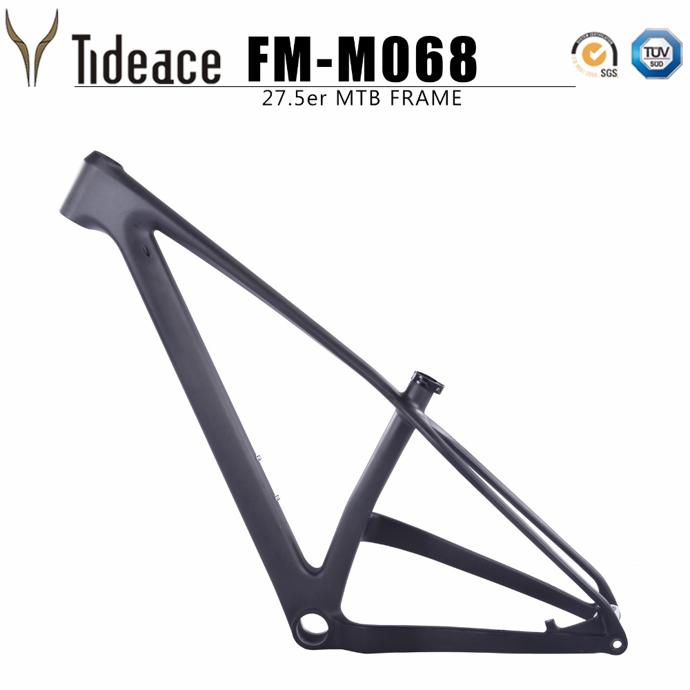 2019 NEW full mtb carbon frame 27.5er carbon mountain <font><b>bike</b></font> frame 27.5 plus full carbon fiber <font><b>OEM</b></font> boost mountain frameset image