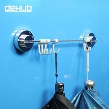 купить  Suction Cup Wall Hook Bathroom Hook Wall Hangers Hanger Bathroom For Bathroom Accessories Hanger Home Decro With Storage Holder по цене 1246.7 рублей