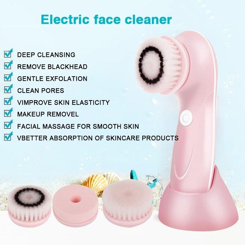 lavagem facial alimentado dispositivo de limpeza facial