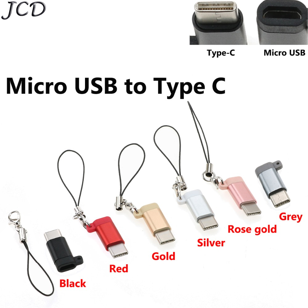 Special Section Gold Sliver Micro Usb Male To Usb 2.0 Female Otg Adapter Converter For Xiaomi Redmi 4x Note 4x Samsung Galaxy With Keychain Fast Color Consumer Electronics