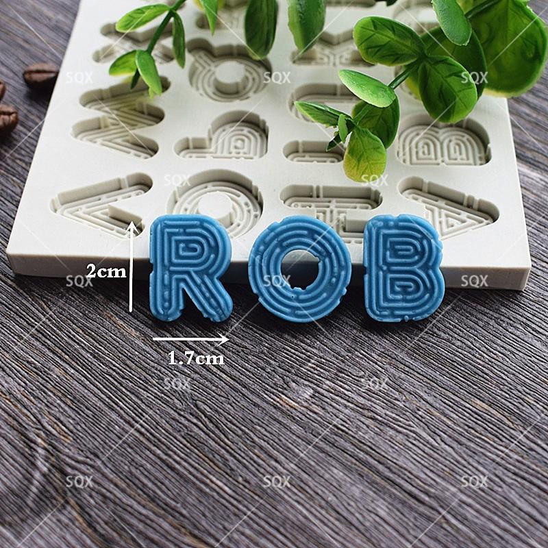 3D Neon Məktublar Stil Tort Kalıplı Mətbəx Giriş Milad Kalıp - Mətbəx, yemək otağı və barı - Fotoqrafiya 1