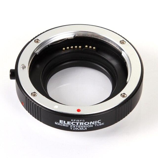 אלקטרוני אוטומטי פוקוס מאקרו הארכת צינור 12mm DG השני עבור Canon EOS EF S