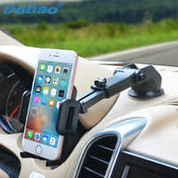 Cobao Universal Phone Holder Car Adjustable Windshield Mount Stand 360 Degree Rotating Dashboard Phone Stand for Xiaomi Meizu