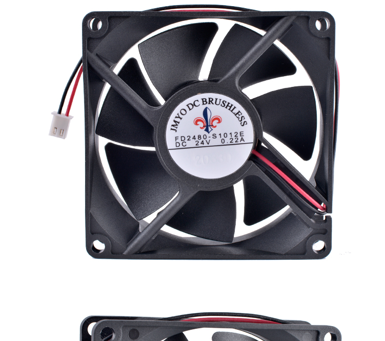COOLING REVOLUTION FD2480-S1012E 8cm 8025 80mm fan 24V 0.22A Large air volume inverter cooling fan