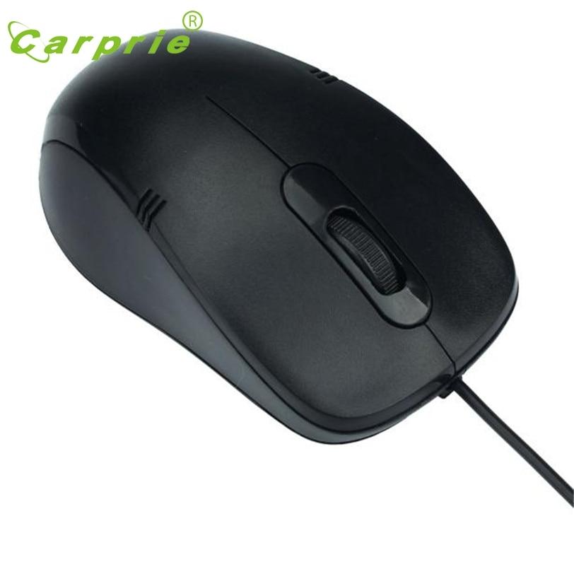 Carprie эргономичный 1200 Точек на дюйм USB Проводная оптическая Мыши компьютерные Мышь для портативных ПК jan18 заводская цена
