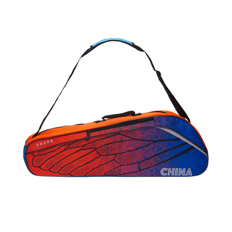 Li Ning Badminton Racket Bag Essentials Polyester 3 Rackets Load Professional Sports Athletic Racquet Bag ABJM096