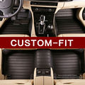 Costumbre hacer esteras del piso del coche para Mercedes Benz clase S W220 280 320 350 430 500 600 L S55 S65 AMG car-styling alfombras alfombra liners