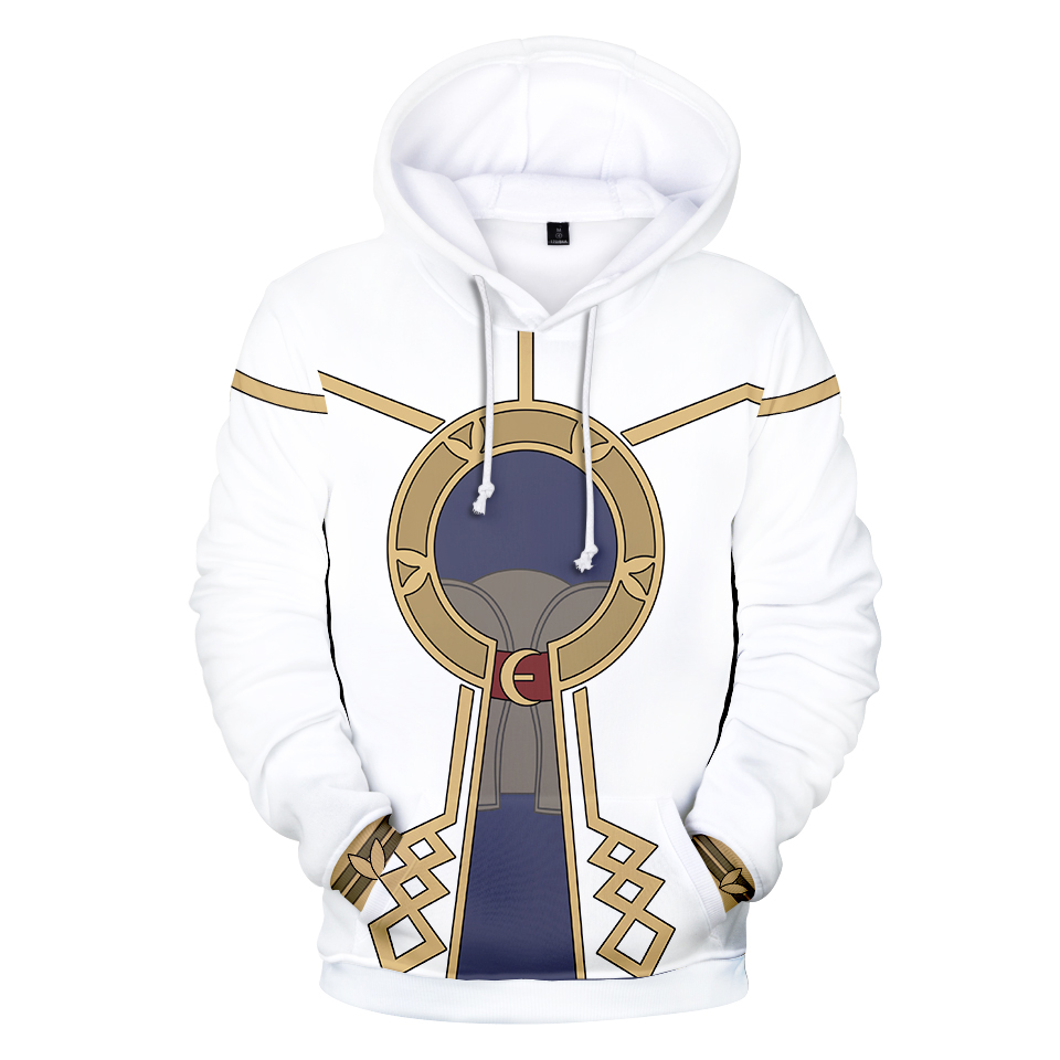 New White Fire Emblem Game 3D Print Hoodies Casual Boy/Girl Hoodies Kpop Pop Clothes mens Brand Design 3D Sweatshirts Coats image