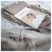 Luna&Dolphin Women European Shawl 180x70cm Virgin Wool Winter Man Scarves Luxury Brand Wool Stole Pashmina Tassles Blankt Scarf