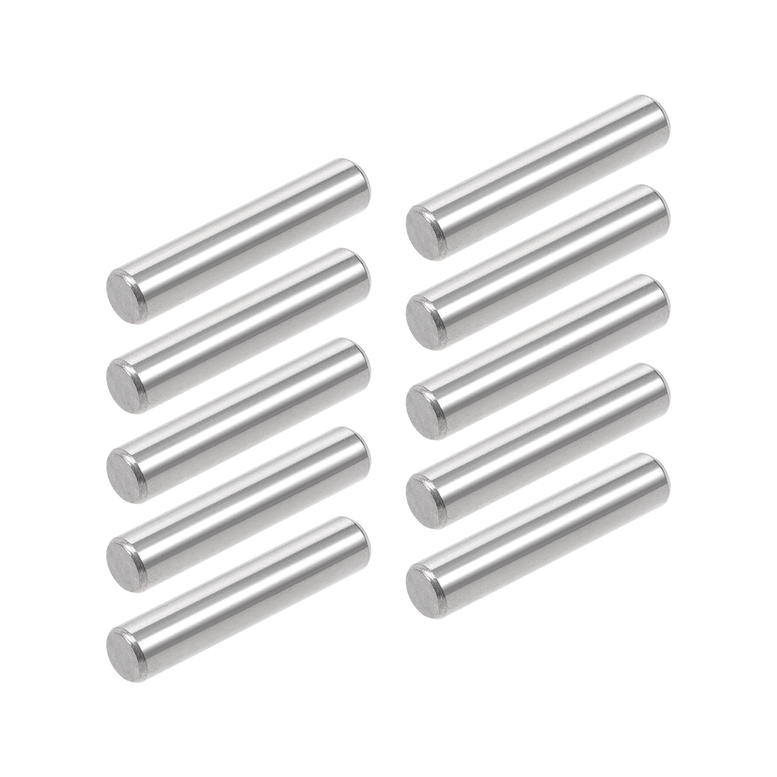 10Pcs 5mm x 60mm Dowel Pin 304 Stainless Steel Shelf Support Pin Fasten Elements