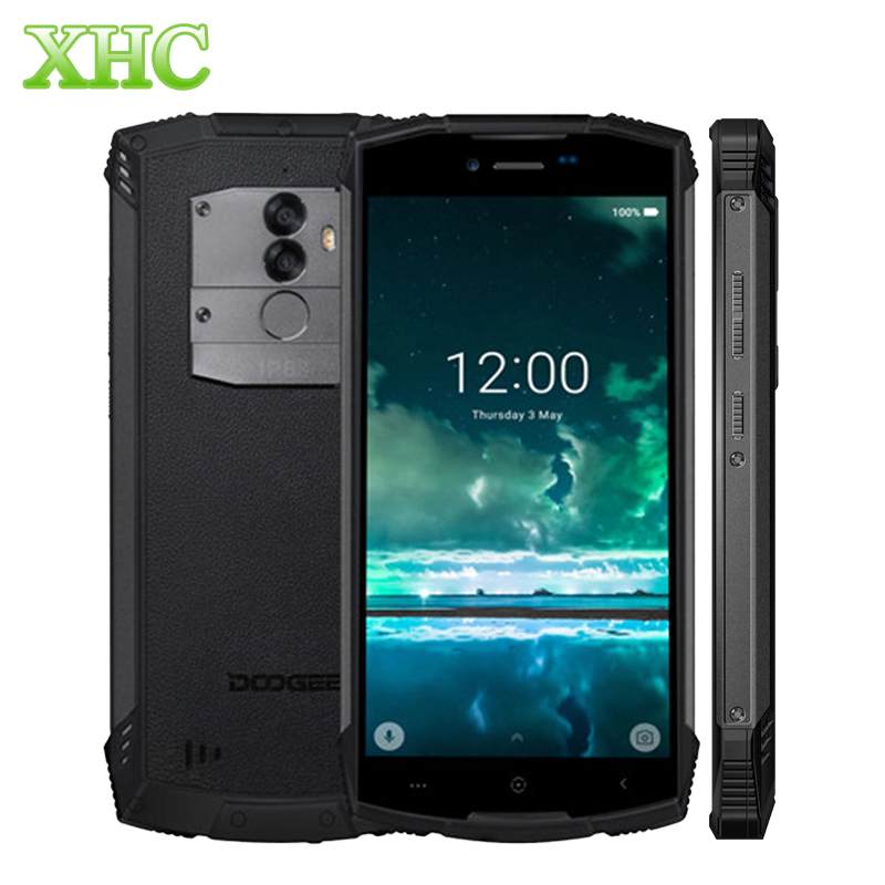 DOOGEE S55 5.5 Smartphone 4GB 64GB IP68 Waterproof Android 8.0 MTK6750 Octa Core Fingerprint Quick Charge Dual SIM Mobile Phone