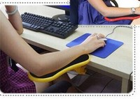 Smartlife desk attachable computer table arm support mouse pads arm wrist rests hand shoulder protect pad.jpg 200x200