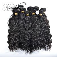 NEW STAR Wholesale Natural Wave 10 Pcs 10'' 34''Brazilian Salon Supply Cuticle Aligned Weave Virgin Human Hair Extension Bundles