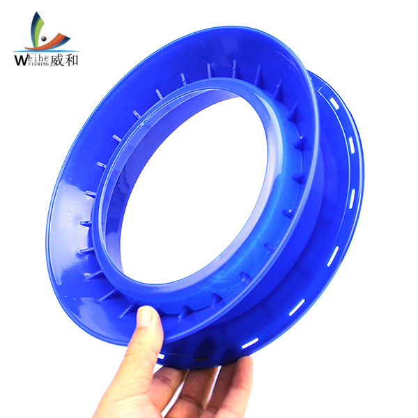 High-strength Plastic Fishing Line Winding Board Plate Outer Diameter 24cm Trace Wire Swivel Fishing Tackle Tools