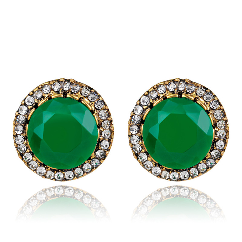 Ohringe ohrstecker set Ohrringe für Frauen doppelseitige ohrring Boucle d'oreille femme brincos...