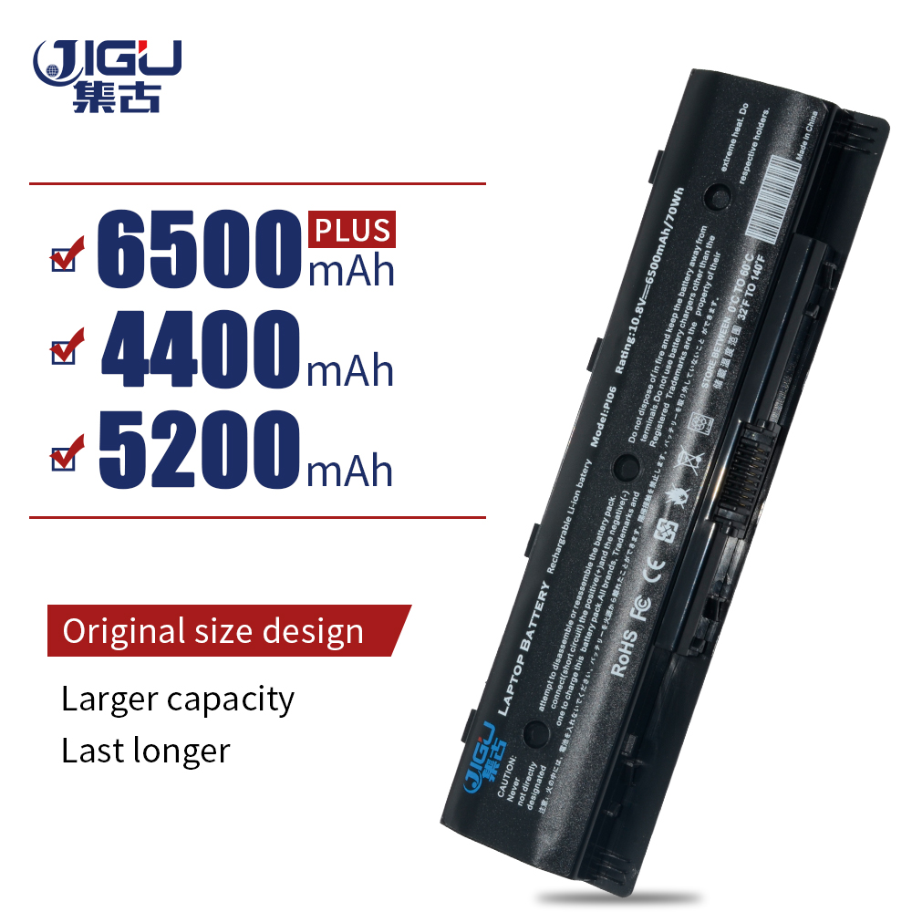 JIGU New Laptop Battery PI06 PI09 HSTNN-UB4N 710416-001 For HP Enyy 14 15 17 BatteriesJIGU New Laptop Battery PI06 PI09 HSTNN-UB4N 710416-001 For HP Enyy 14 15 17 Batteries