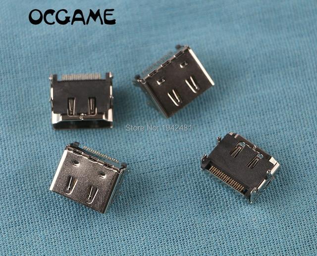 OCGAME 5 unids/lote conector de interfaz de conector de puerto HDMI para XBOX360 XBOX 360 reemplazo interno delgado de alta calidad