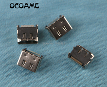 Ocgame xbox360 xbox 360 슬림 내부 교체 용 5 개/몫 hdmi 포트 소켓 인터페이스 커넥터 고품질