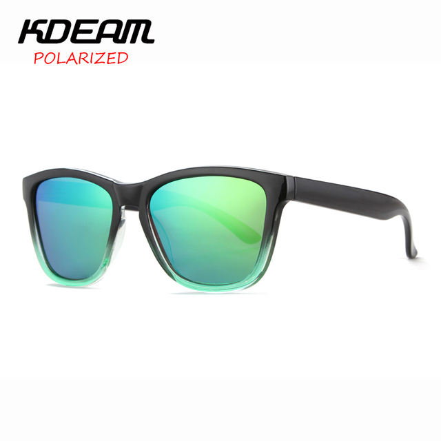 aba4a6f3c KDEAM 2017 New Frog Style Polarized Sunglasses Men Reflective Coating Sun  Glasses Women oculos de sol