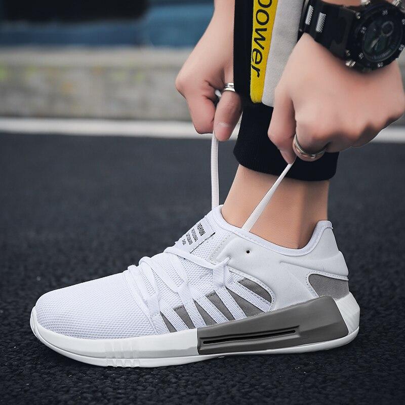 432ba16d ZENVBNV Новые бренды 2019 мужские модные повседневные туфли Весна удобные  летние дышащие сетчатые мужские кроссовки для