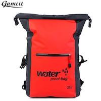Gameit 25L Water Resistant Dry Bag Roll Top Traveling Rafting Backpack Dry Sack Storage Bag Rafting