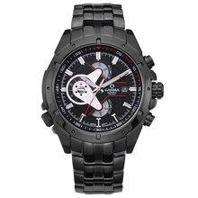 Marca de lujo de Relojes Deportivos Hombres de múltiples funciones de los hombres de Moda Reloj de cuarzo resistente al agua 100 m # CASIMA 8202