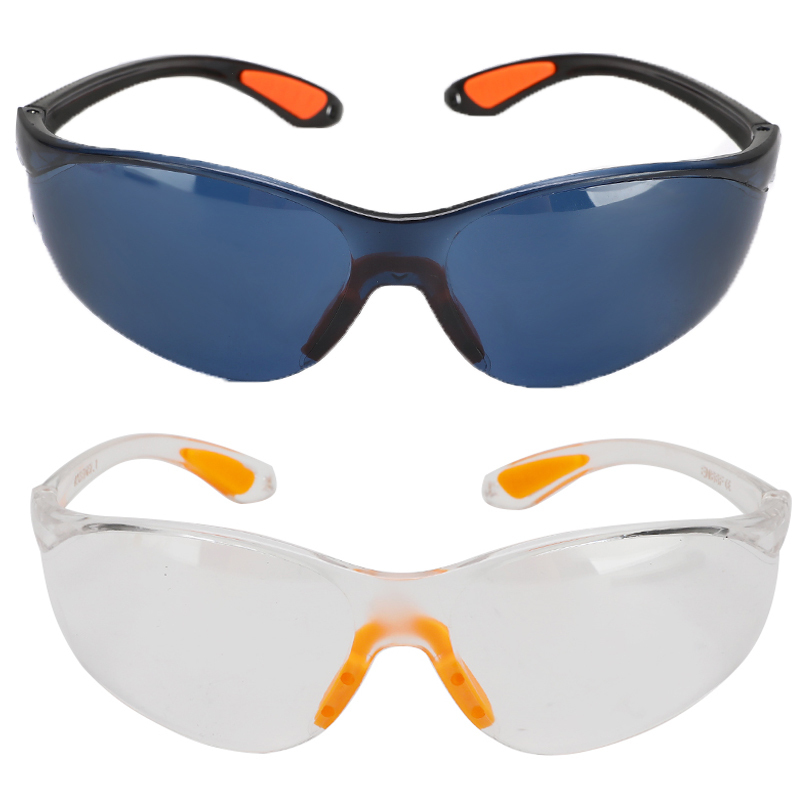 Splash Protective Anti-wind Glasses Goggles Transparent Dust-Proof Glasses Safety Anti-impact Working Glasses Lab Eyewear(China)