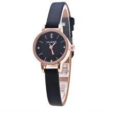 Minimalistické dámské hodinky - černá
