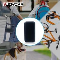 VJOYCAR T580 Mini GPS Tracker SOS Waterproof Design GSM GPRS Locator For Car Pet Cat Dog Children Bike Ebike and Free App