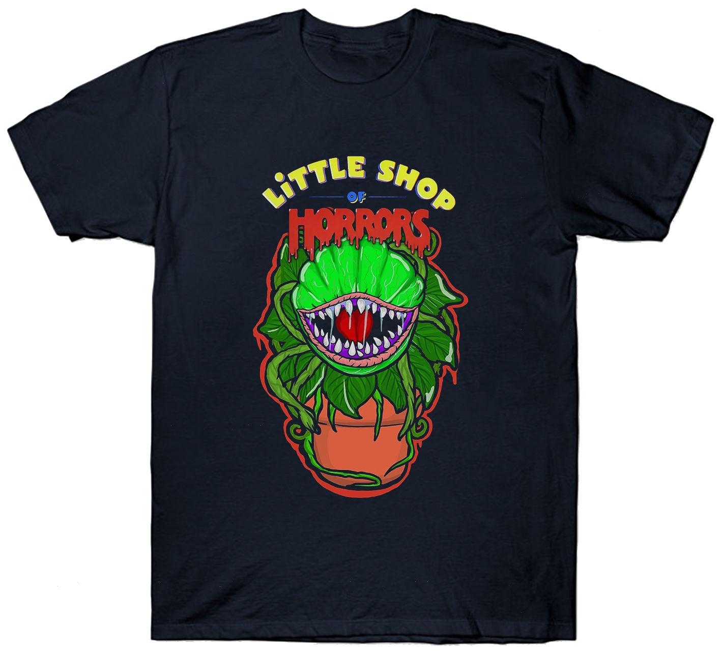 Little Shop Of Horrors T Shirt Top Cult Film Movie 1980 S Fan Horror Sci Fi