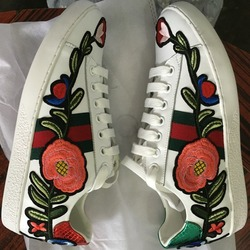 2017 spring new genuine leather embroidery flower lace up flats brand designer white comfort leisure espadrilles.jpg 250x250