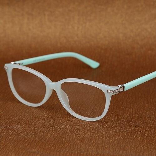 2017 rhinestone eyeglass frames women High quality prescription ...