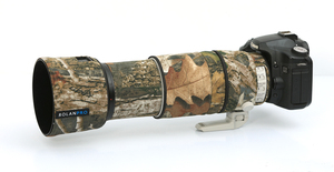 Image 4 - ROLANPRO Lens Camouflage Coat Rain Cover for Canon EF 100 400mm f4.5 5.6 L IS II USM lens Protective Sleeve Guns Case Outdoor