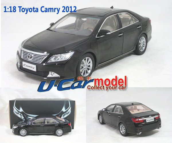 1pcs/lot 1:18 TOYOTA CAMRY 2012 Die Cast Model Car (New