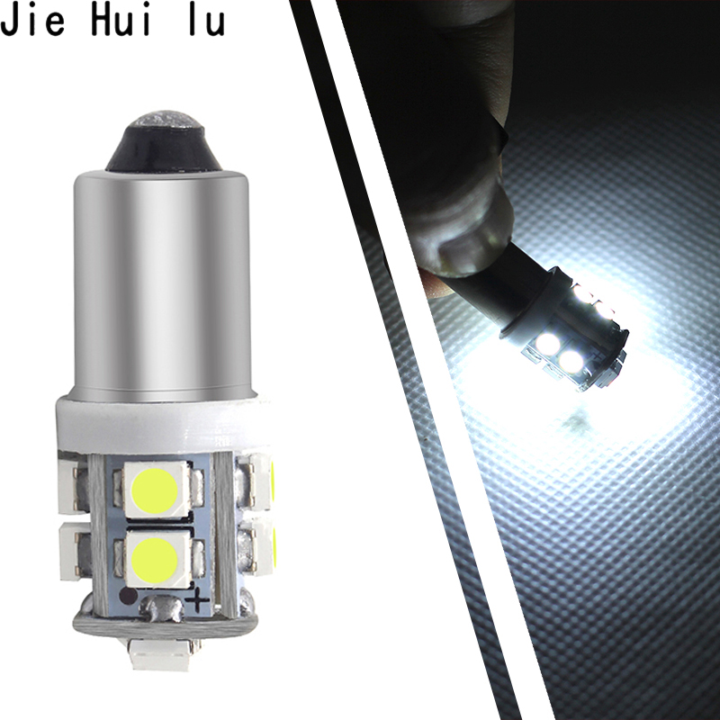 BA9S <font><b>Led</b></font> 12V DC T4W <font><b>T10</b></font> T11 3528 10 SMD Reverse Light Car <font><b>Led</b></font> Bulbs White <font><b>Blue</b></font> Red Green Amber Pink Ice <font><b>Blue</b></font> image