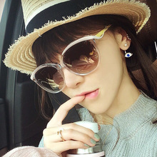 Mujeres de lujo gafas de Sol de Diseñador de la Marca Oculos Feminino Ahueca Hacia fuera la Lente de Alta Calidad Gafas De Sol mujer JWW116