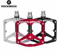 ROCKBROS vtt vélo ultra-léger en aluminium AlloyBike vélo scellé DU roulement pédales Chrome-molybdène antidérapant taquet vélo partie