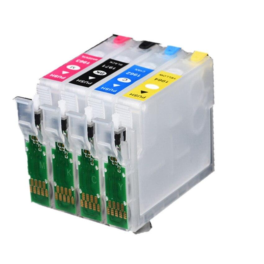 T1971 T1964 navulbare inkt cartridge voor EPSON XP201 XP211 XP204 XP401 XP411 XP214 XP101 WF 2532 Printer-in Inktpatronen van Computer & Kantoor op AliExpress - 11.11_Dubbel 11Vrijgezellendag 1