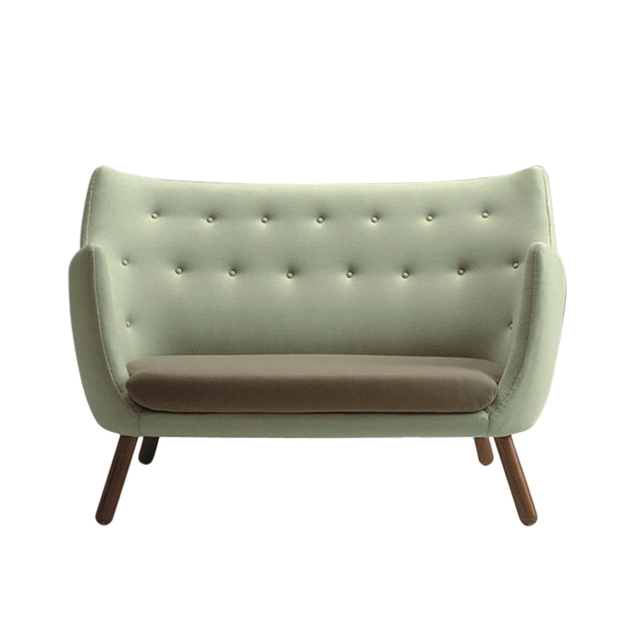 ikea retro furniture. Authentic Modern French Simple Casual Small Apartment Hotel IKEA Retro Exquisite Wood Fabric Sofa Ikea Furniture T