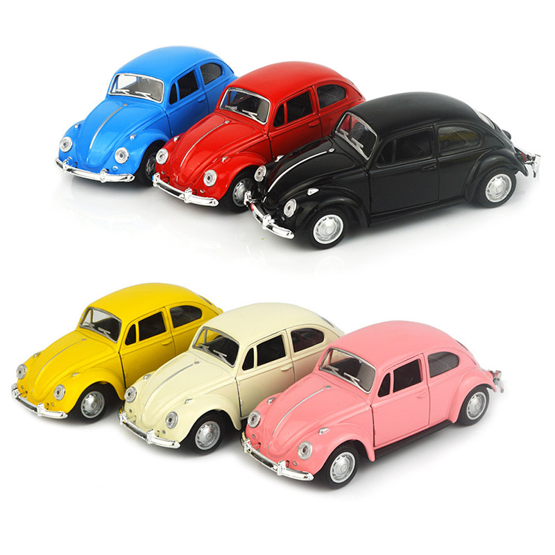 Mini Pull Back Car Model Toy Simulation Car Can Open-door Educational Toys For Children Kids Gift Hot Wheels Toy Car