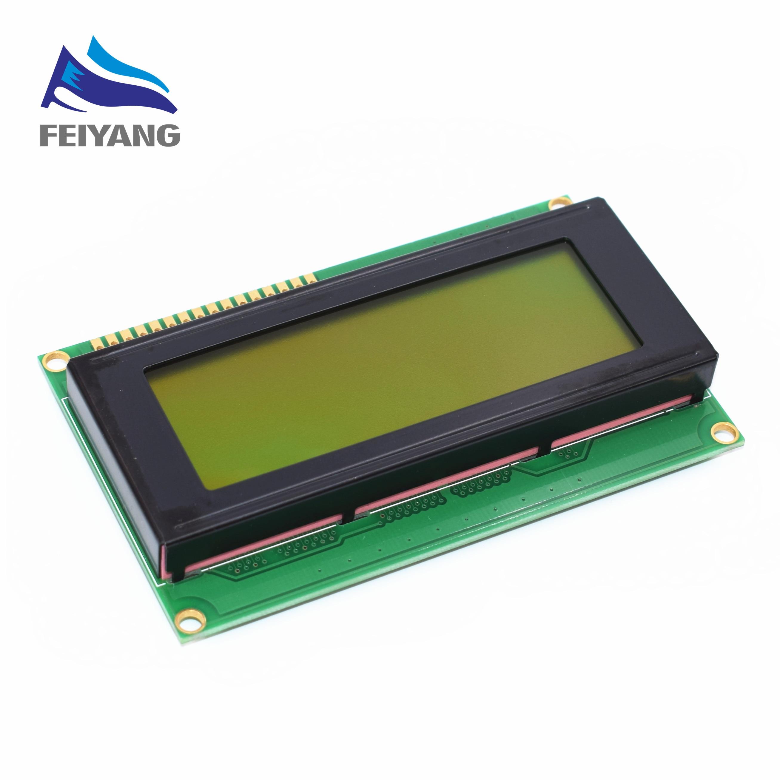 1PCS LCD Board 2004 20*4 LCD 20X4 5V yellow-green screen LCD2004 display LCD module LCD 20041PCS LCD Board 2004 20*4 LCD 20X4 5V yellow-green screen LCD2004 display LCD module LCD 2004