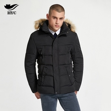 HAI YU CHENG Winter Mens Jacket Thick Snow Wear Wadded Parka Men Bubble Jacket Men Coat Trench Windproof Pilot Jacket Anorak 229