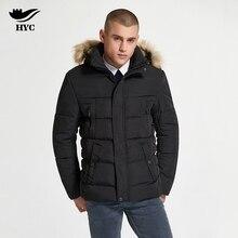 HAI YU CHENG Winter Mens Jacket Thick Snow Wear Wadded Parka Men Bubble Jacket Men Coat Trench Windproof Pilot Jacket Anorak 229