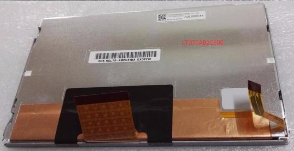 все цены на  7inch Original LT070AB2C600 GPS vehicle-mounted LCD control screen  онлайн