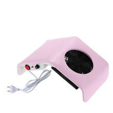Nail Art Dust Collector 30W Manicure Suction Vacuum Cleaner Nail Polish Gel Filling Dust Collector Fan For Nail Manucure Machine 30w nail suction dust collector with 3 fan and 2 bags nail vacuum cleaner manicure tools hand rest design nail art equipment hwc