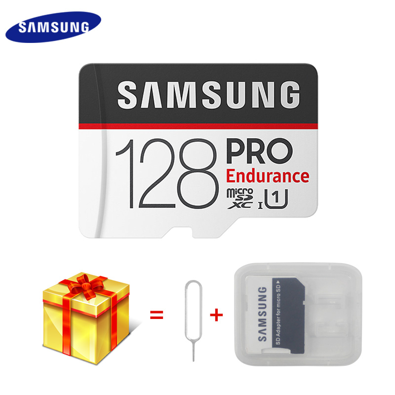 New SAMSUNG Memory Card Micro SD Card PRO Endurance 100MBs 128GB 64GB 32GB SDXC SDHC Class 10 TF Card C10 UHS I Trans Flash Card-in Micro SD Cards from Computer & Office