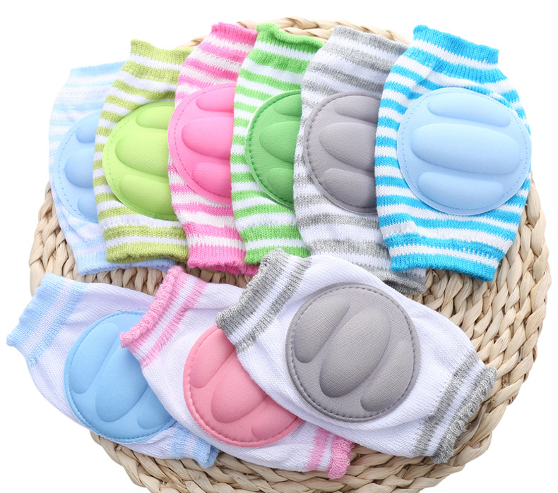 Fine Quality Baby Knee Pads Cotton Kids Safety Crawling Elbow Cushion Infants Knee Protection Pad Baby Kneecap For 0-3Years